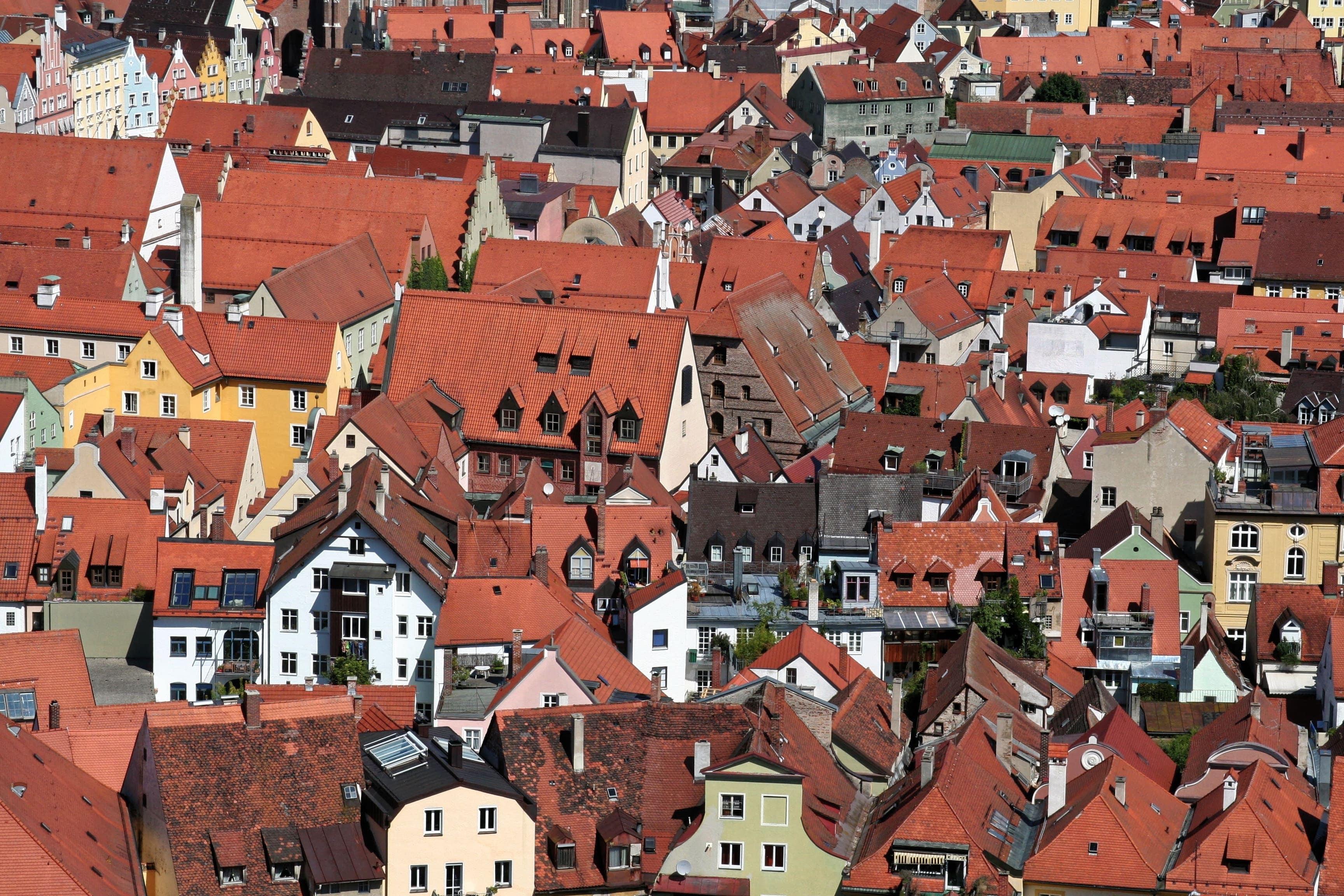 Blick auf Landshut- Dubil